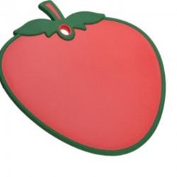 Tocator Strawberry, 28x30x8 cm, polipropilena, rosu