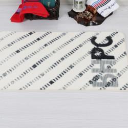 Covoras de baie, Beverly Hills Polo Club, 309 Grey, 57 x 100 cm, 100% poliamida