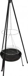 Gratar Kettle, 79x151 cm, zinc, negru
