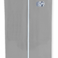 Husa pentru haine Grey, Jocca, 60x136 cm, PEVA, gri
