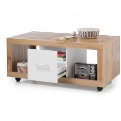 Masuta pentru cafea, Ibiza, 115 x 50 x 60 cm, PAL, bej