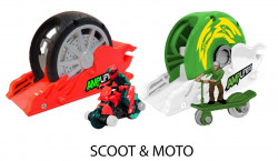 Moto/trotineta si lansator, Amplifiers, multicolor