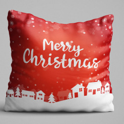 Perna decorativa, Christmas Decoration KRLNTXMAS-12, 43x43 cm, policoton
