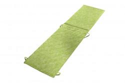 Perna sezlong Alcam, Midsummer, 195x50x3 cm, microfibra matlasata, Green Jeans