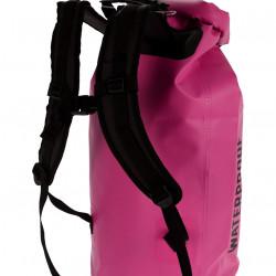 Rucsac impermeabil, 40 L, polivinil, roz