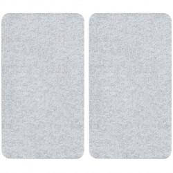 Set 2 protectii universale pentru aragaz, Wenko, 1.8 x 30 x 52 cm, sticla termorezistenta