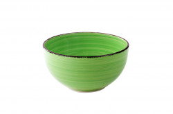 Bol pentru cereale Gala Green, Heinner, Ø14 cm, ceramica, verde