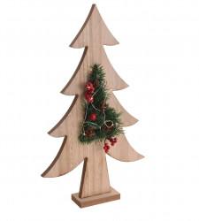 Decoratiune Tree w pine, 23x4.5x39.5 cm, lemn