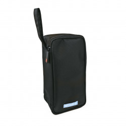 Geanta frigorifica Nano Cooler, Iris Barcelona, 1.4 L, 11x8x22 cm, poliester, negru