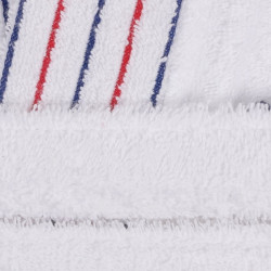 Halat de baie barbati, Beverly Hills Polo Club, 100% bumbac, L/XL, White