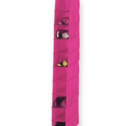 Organizator, Jocca, 10 rafturi, Roz 15 x 30 x 122 cm