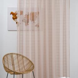Perdea Imagine, Clemence, 300x245 cm, poliester, cappuccino