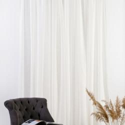 Perdea Mendola Interior, Geneva, 400x245 cm, poliester, crem