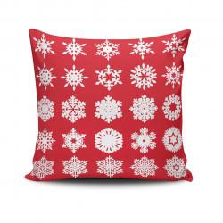 Perna decorativa NOELKRLNT-20, Christmas, 43x43 cm, policoton, multicolor