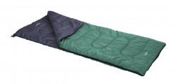 Sac de dormit pentru camping L, 180x74 cm, poliester, verde