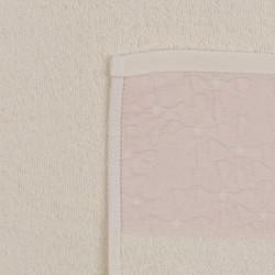 Set 2 prosoape de maini 50x90 cm, 100% bumbac, Soft Kiss, Menekşe, crem