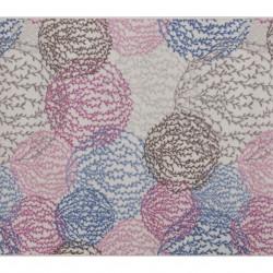 Covor Aliova - Blue, Confetti, 120x140 cm, poliamida, multicolor
