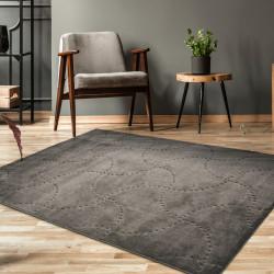 Covor Hampton 963 Ebony, Bedora, 160 x 240 cm, 100% polipropilena, negru