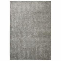 Covor Notos Silver, Bedora, 133 x 190 cm, 100% poliester, gri deschis