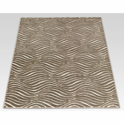 Covor Reflex Modern, Floorita, 160 x 230 cm, 100% polipropilena, bej/maro