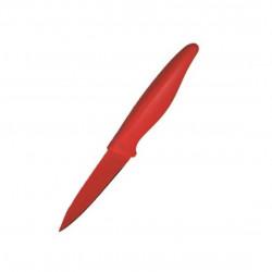 Cutit pentru curatat Jocca, 7.5 cm, inox/polipropilena, non-stick, rosu