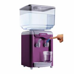 Dozator de apa Jocca Purple, 22 x 20 x 29 cm, ABS si PP, mov