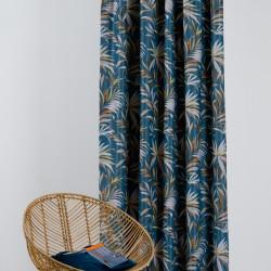 Draperie Mendola Interior, Bermuda, 140x255 cm, poliester, albastru