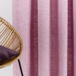 Draperie Mendola Interior, Rhone, 210x245 cm, policoton, roz flamingo
