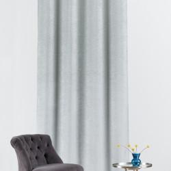 Draperie Mendola Interior, Vento, 140x260 cm, poliester, gri/vernil