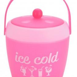 Frapiera cu cleste Ice, 1800 ml, polipropilena, roz