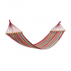 Hamac Red Stripes cu bare de lemn, 200x80 cm, Heinner