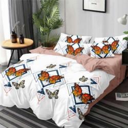 Lenjerie de Pat din Finet, Pat 2 Persoane, Butterfly, FNJ-100