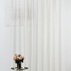 Perdea Mendola Interior, Shaby, 400x245 cm, poliester, crem
