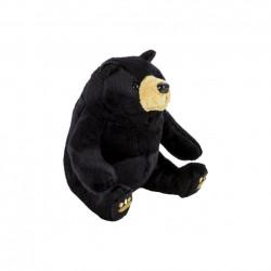 Plus Urs, 15 cm, negru