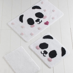Set 3 covorase de baie, Chilai, Panda