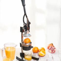Storcator de fructe profesional, Heinner, 20 x 39.5 x 29.4 cm, fonta, negru