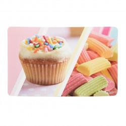 Suport pentru farfurie Candy, Heinner, 23 x 43 cm, plastic, multicolor
