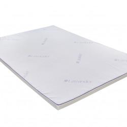 Topper saltea Green Future, Lavanda Therapy Memory 7 zone de confort 120x200 cm, 5 cm