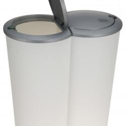 Cos de gunoi Double, 2x25 L, polipropilena