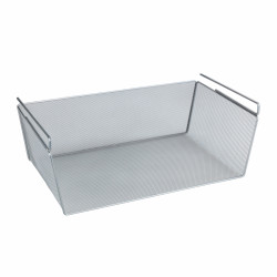 Cos suspendat multiuse Wenko, 49x17x20 cm, metal, argintiu