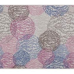 Covor Aliova - Blue, Confetti, 150x160 cm, poliamida, multicolor