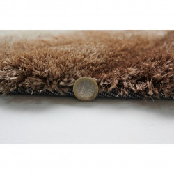 Covor Verge Furrow Natural, Flair Rugs, 120 x 170 cm, 100% poliester, maro