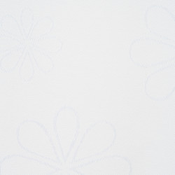 Fata de masa Jacquard anti-pete, Heinner Home, 140 x 240 cm, 100 % poliester, alb