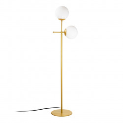 Lampadar Mudoni MR - 955, Opviq, 34 x 174 cm, 2 x E27, 100W, auriu