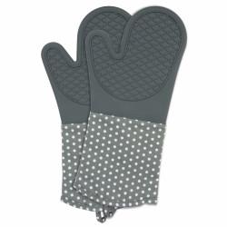 Mănuși termoizolante Wenko Silicone Grey, 1 pereche