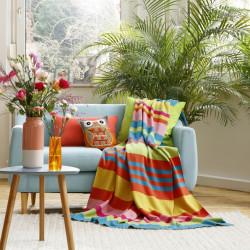 Patura, Biederlack, Bright Bouquet Color Blocking, 130 x 180 cm, 100% bumbac, multicolor
