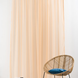 Perdea Imagine, Voal simplu, 300x260 cm, poliester, cappuccino