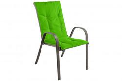 Perna scaun cu spatar Alcam, Midsummer, 105x48x3 cm, material impermeabil, Verde