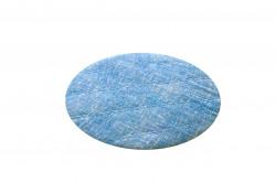 Perna scaun matlasata, Alcam, Blue Jeans, Ø36 cm