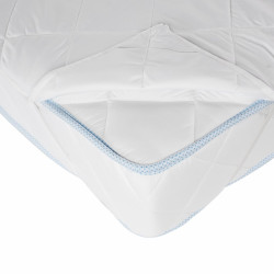 Protectie saltea Alcam microfibra matlasata 90x200 cm